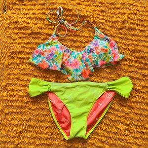 VS Neon Floral Bikini